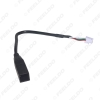 Picture of Car Audio Radio 4Pin Connector to USB Input Wire Adapter For Toyota Camry Corolla Mazda Standard Original Auto USB Cable