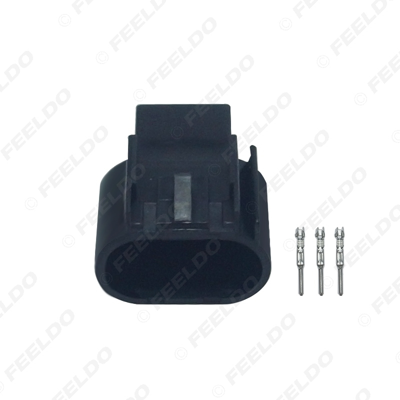 Picture of Auto Motorcycle H13-11 HID LED Bulb DIY Quick Adapter Car Light Connector Terminals Plug