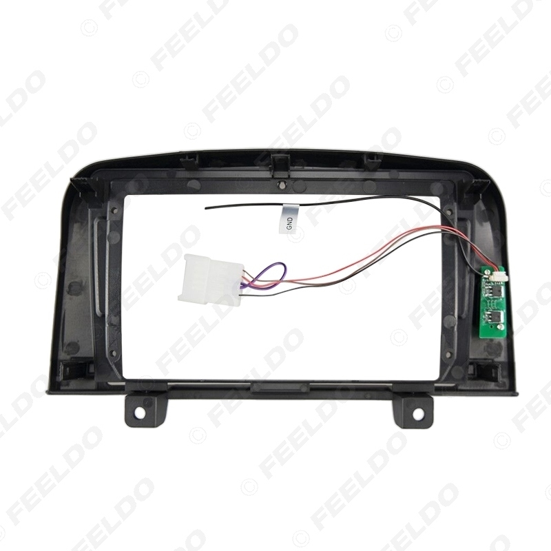 """Picture of Car Audio 9"""" Big Screen Fascia Frame Adapter For Hyundai NF Sonata 2Din Dash DVD Player Fitting Panel Frame Kit"""