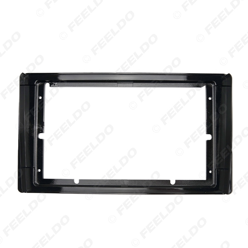 """Picture of Car Stereo 9"""" Big Screen Fascia Frame Adapter For Toyota Model 2Din Dash Audio Fitting Panel Frame Kit"""