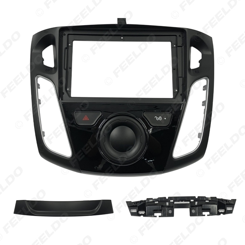 """Picture of Car Stereo 2Din Fascia Frame Adapter For Ford Focus 12-17 9"""" Big Screen Dash Audio Fitting Panel Frame Kit"""