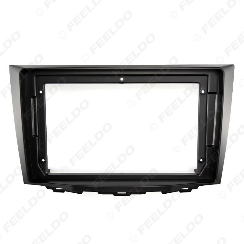 "Picture of Car Stereo 9"" Big Screen Fascia Frame Adapter For Suzuki Kizashi 2Din Dash Audio Fitting Panel Frame Kit"