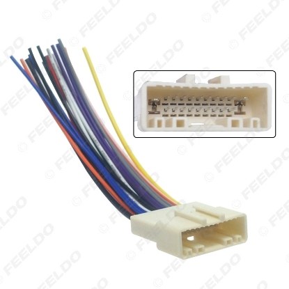 Picture of 20Pin Car Audio Stereo Wiring Harness Adapter For Nissan/Subaru/Infiniti Install Aftermarket CD/DVD Stereo