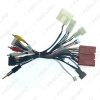 Picture of Car 16pin Audio Wiring Harness With Canbus Box For Mazda 6 CX-5 Stereo Installation Wire Adapter