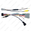 Picture of Car 16pin Audio Wiring Harness For Honda Crider Jazz Aftermarket Stereo Installation Power Wire Adapter