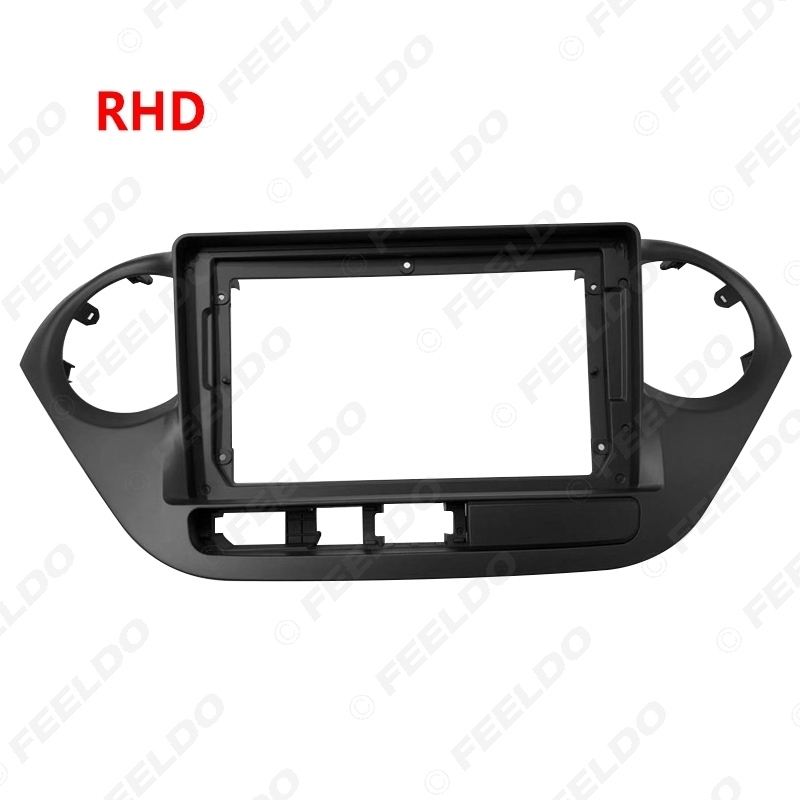 """Picture of Car 2Din Audio Fascia Frame Adapter For Hyundai I10 9"""" Big Screen Dash Fitting Panel Frame Installtion Kit"""