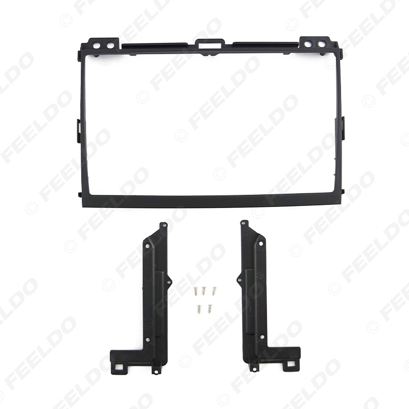 Picture of Car Audio 9 Inch Big Screen 2Din Fascia Frame Adapter For Toyota Prado 120 Stereo Dash Fitting Panel Frame Kit