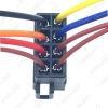 Picture of Car Radio Audio 8PIN Wiring Harness For Volkswagen/Audi/Mercedes Plug Into OEM Factory CD Radio Installation Wire Adapter