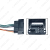 Picture of Car Radio Audio Stereo Interface Wire Harness for Volkswagen Golf 7 Sokda Installing Aftermarket CD/DVD Plug Wire Adapter