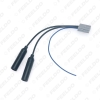 Picture of Car Stereo Radio Double Heads Male To Female Plug Antenna Adapter For Honda CRV Civic Radio Wire Cable