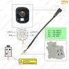 Picture of Car Radio Audio 4Pin Conector Changer Port Adapter for Volkswagen BORA Sagitar Magotan Touran Octavia USB Cable Transfer