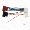 Picture of Car CD Radio ISO Wiring Harness Adapter for Renault Logan Sandero Duster Captur Head Units Cable