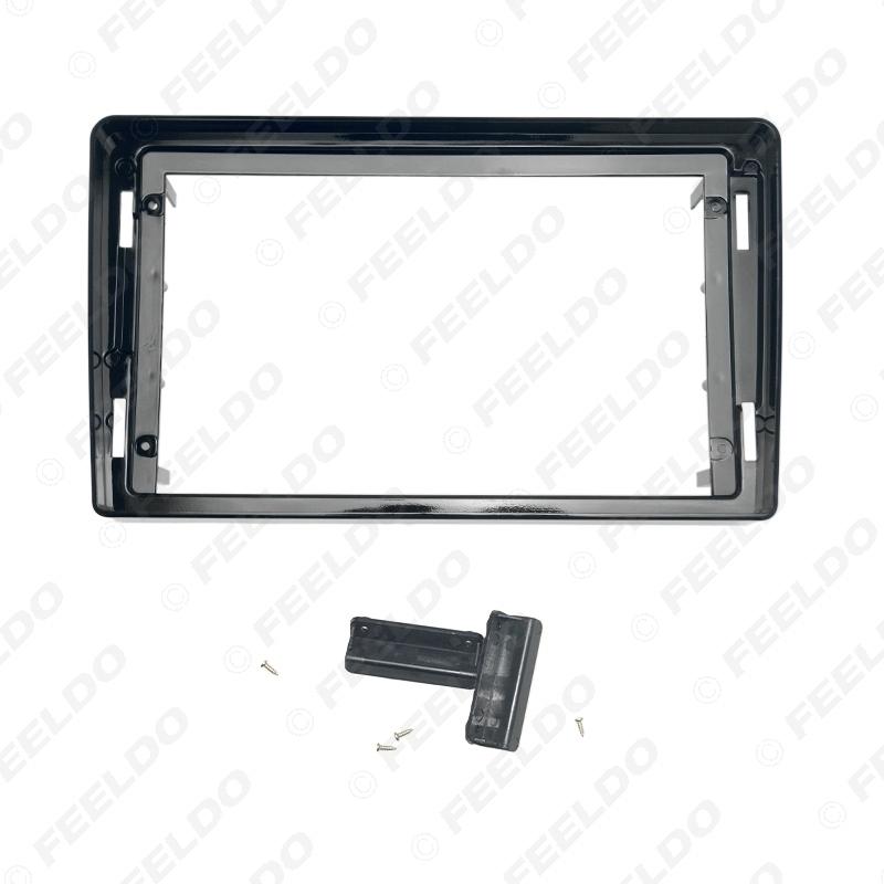 "Picture of Car Audio Radio 2DIN Fascia Frame Adapter For Mitsubishi Triton 9"" Big Screen DVD Dash Fitting Panel Frame Kit"