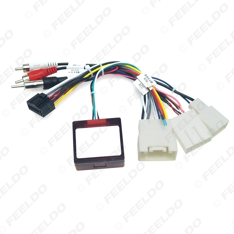 Picture of Car Audio DVD Player 16PIN Android Power Cable Adapter With Canbus Box For Toyota Prado/Sequoia/Lexus 330/350 Wiring Harness