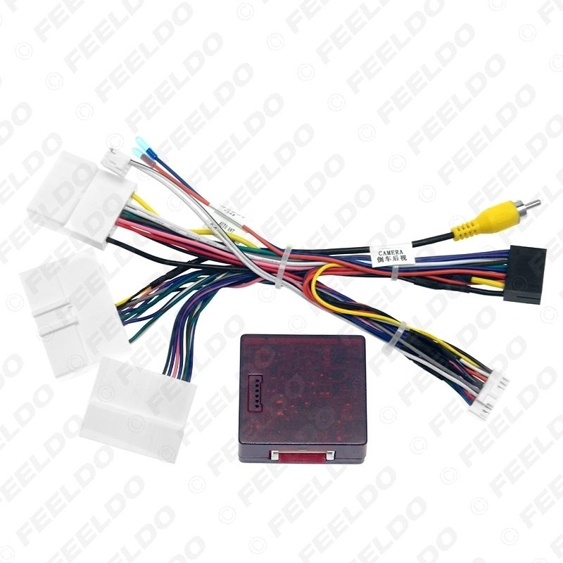 Picture of Car Android Stereo 16PIN Power Wiring Harness Cable Adapter With CANbus Box For Renault Dacia Duster 2019+/Arkana 2019+/XM3 2019+