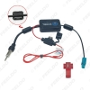 Picture of Car Antenna FAKRA AM/FM Radio Signal Amplifier Booster For Audi Volkswagen Aerials Fakra Antenna Booster Parts