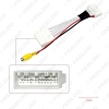 Picture of Car Parking Rear Camera Video Plug Converter Cable For Mazda 2 3 6 CX-5 Parking Reverse Wire Adapter