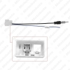 Picture of Car Female to ISO Male Plug Radio Antenna Adapter For Isuzu Single Head Radio Wire Cable