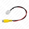 Picture of Car Parking Rear Camera Video Plug Converter Cable For Toyota Camry Parking Reverse Wire Adapter