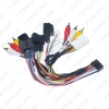 Picture of Car Stereo Audio 16PIN Android Power Cable Adapter For Chevrolet Captiva Epica CD/DVD Player Wiring Harness