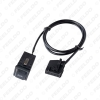 Picture of Car AUX IN Switch MP3 Audio Interface Wire for VolksWagen Audi Ford Skoda Modified AUX Cable Adapter