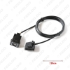 Picture of Car AUX IN MP3 Audio 3.5mm Female Interface Wire for VolksWagen Audi Ford Skoda Modified AUX Cable Adapter