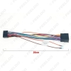Picture of Car 16pin Audio Wiring Harness For Chevrolet Aveo Lova Chery Landwind Stereo Installation Power Wire Adapter