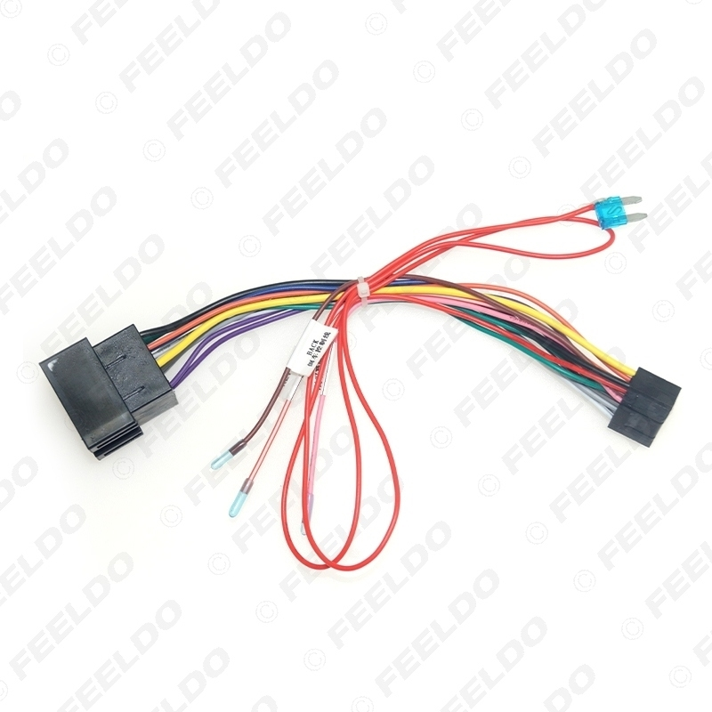 Picture of Car 16pin Audio Wiring Harness For Lada Vesta/Granta(06~10) Aftermarket Stereo Installation Wire Adapter