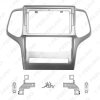 """Picture of Car Audio Fascia Frame Adapter For Jeep Grand Cherokee 9"""" Big Screen 2DIN Dash Fitting Panel Frame Kit"""