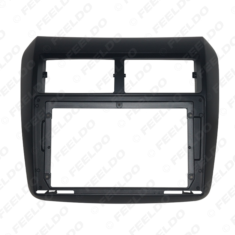"""Picture of Car Audio Radio 2DIN Fascia Frame Adapter For Toyota Wigo Agya 9"""" Big Screen DVD Player Dash Fitting Panel Frame Kit"""