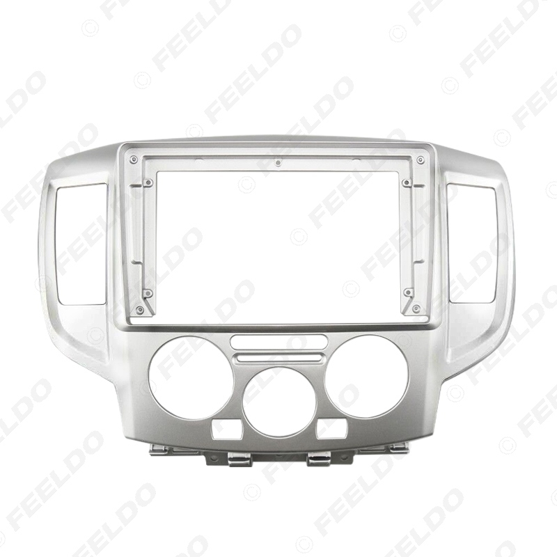 Picture of Car Stereo 9 Inch Big Screen Fascia Frame Adapter For Nissan NV200 2Din Dash Audio Fitting Panel Frame Kit