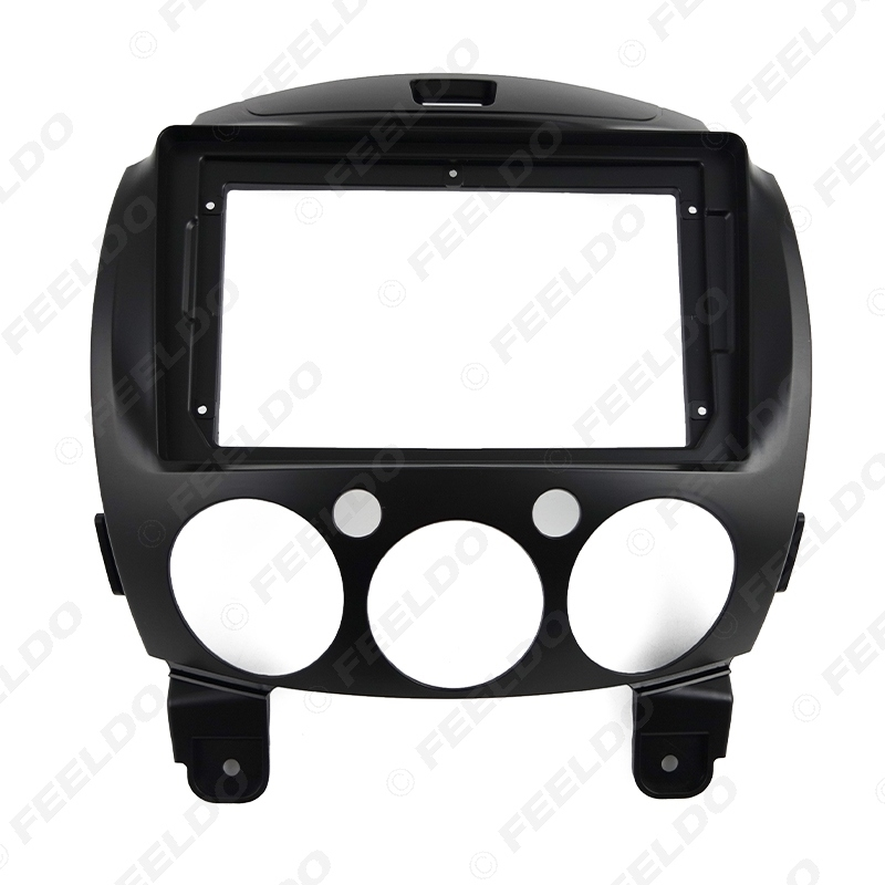 """Picture of Car Audio Radio 2DIN Fascia Frame Adapter For Mazda 2 9"""" Big Screen CD/DVD Player Dash Fitting Panel Frame Kit"""