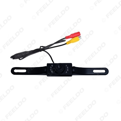 Picture of Auto Parking System License Plate Rear View Backup Camera With IR Leds Night Vision Car Camera