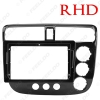 """Picture of Car Audio 9"""" Big Screen Fascia Frame Adapter For Honda Civic 2002-2005 2DIN Dash Fitting Panel Frame Kit"""