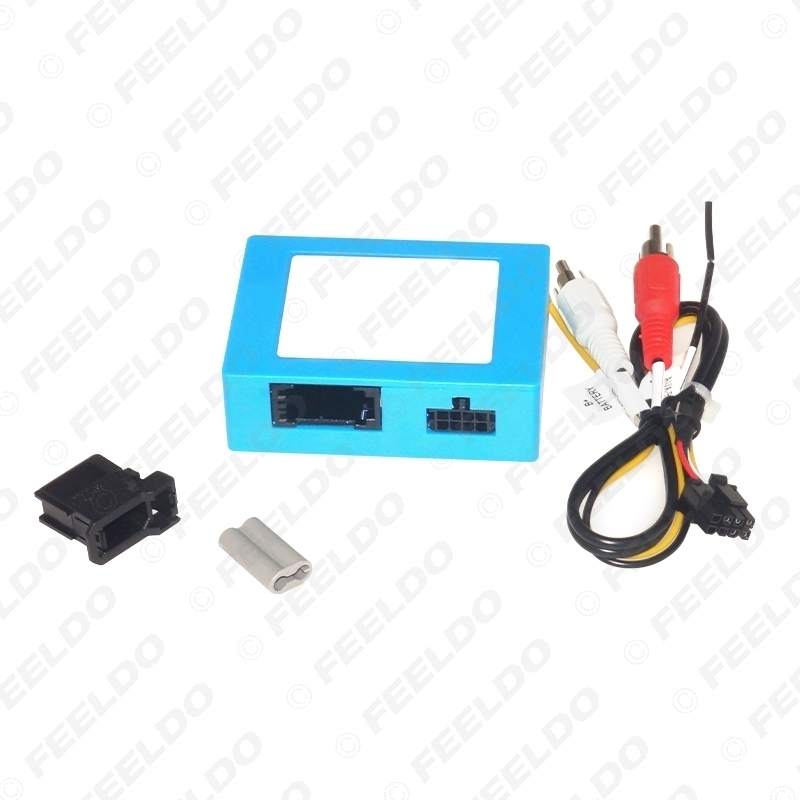 Picture of 2-Channel RCA Audio AUX-Input To MOST Optic Fiber Amplifier Decoder Converter Kit Fit For Benz S/CL/CLS/E/SLK/SL(W171;W211;W219;W220)