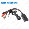 Picture of Universal Auto Wireless Bluetooth Connection AUX Adapter for Stereo with 2 RCA AUX IN Music Audio Input Wireless Cable
