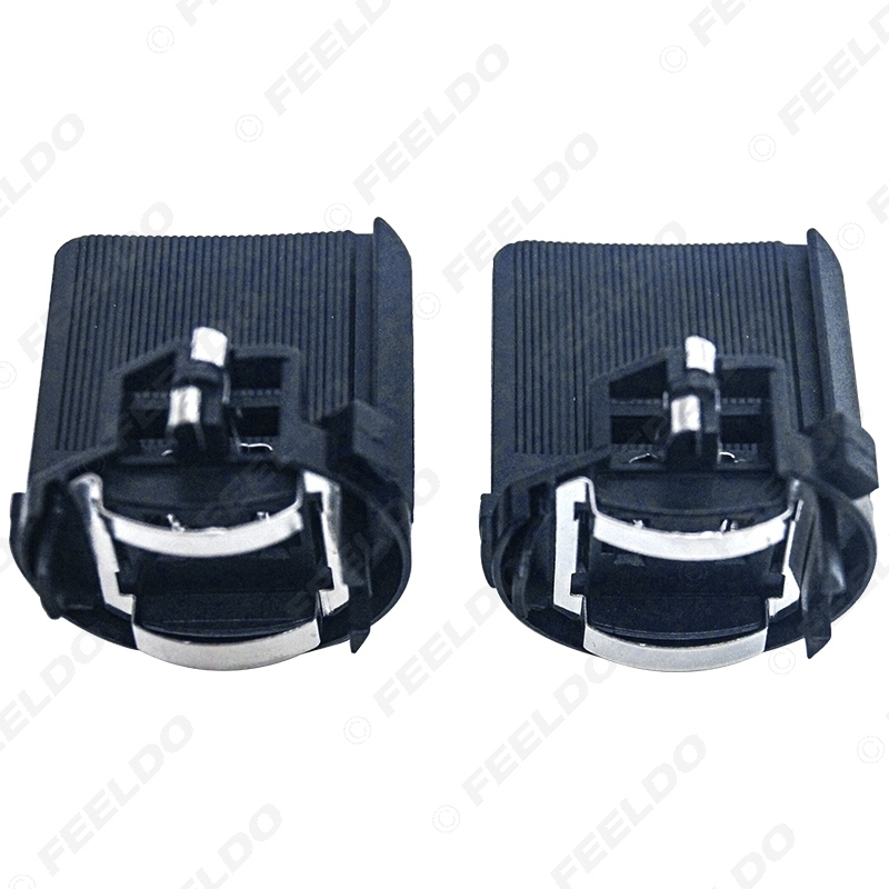 Picture of 2PCS Car LED Headlight Holder Adapters For Volkswagen Golf 7 Halogen Lamp Bulb Modified Holder Base