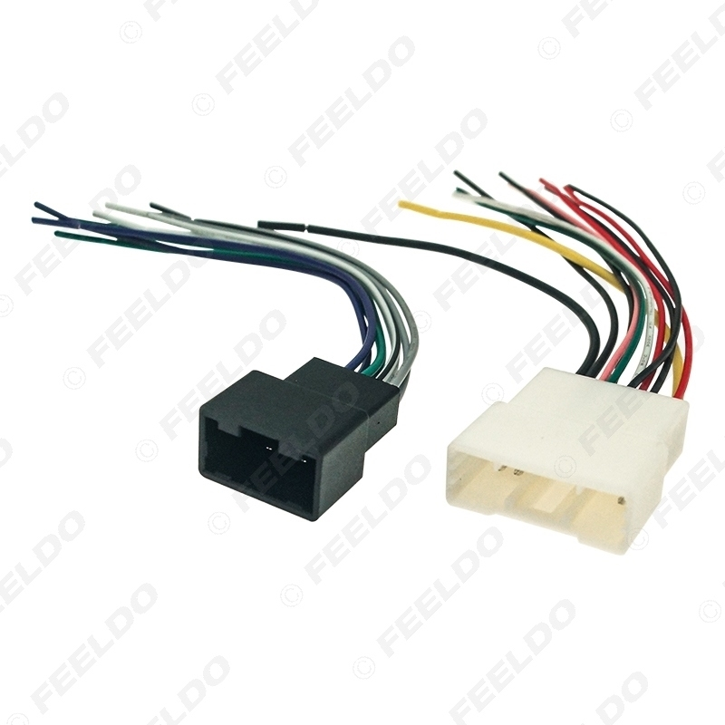 Picture of Car Radio Audio 2In1 Wiring Harness Adapter for Toyota Camry 2018+ Aftermarket Installing Stereo Wire Plug Cable