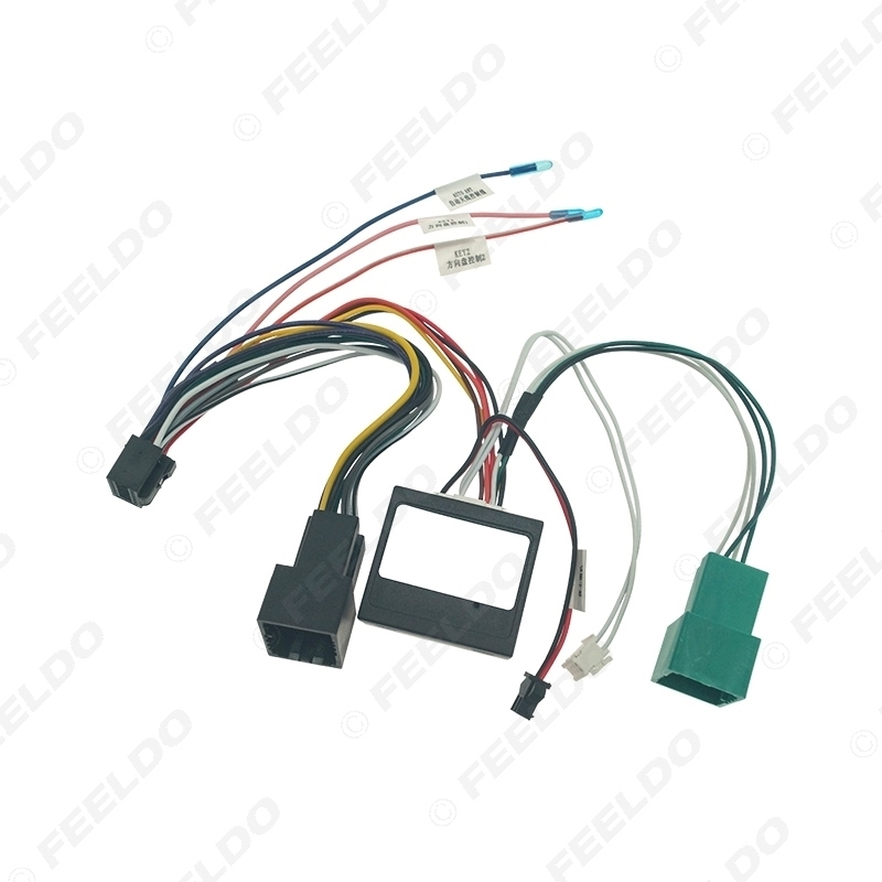 Picture of Car Audio 16PIN DVD Player Power Calbe Adapter USB Cablue With Canbus Box For Chevrolet Orlando 2018 Stereo Plug Wiring Harness
