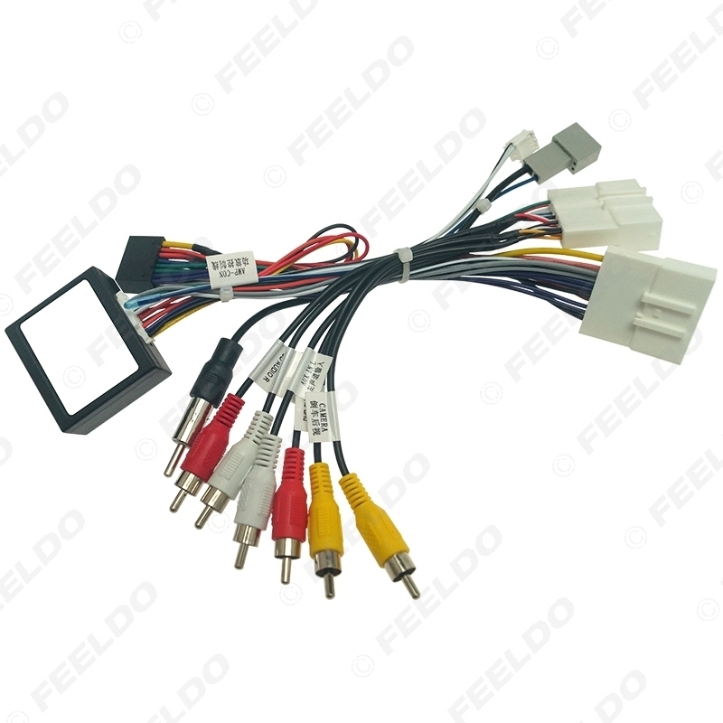Picture of Car Audio 16PIN DVD Player Power Calbe Adapter With Canbus Box For Mazda3 Axela CX-4 CX-5 Antnza Stereo Plug Wiring Harness