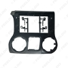 """Picture of Car 2Din Audio Face Plate Fascia Frame For Jeep Wrangler 11-14 10.1"""" Big Screen CD/DVD Player Panel Dash Mount Kit"""