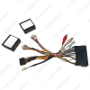 Picture of Car Audio 16PIN DVD Player Power Calbe Adapter With 2 Canbus Boxes For Hyundai IX35 Sonata 8 Santafe Kia K3 Wiring Harness