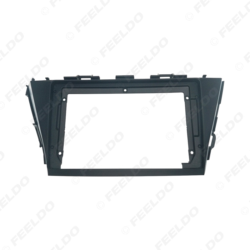"""Picture of Car Radio Audio Face Plate Fascia Frame For Toyota Prius 2013 9"""" Big Screen CD/DVD Player Panel Dash Mount Kit C"""