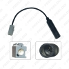Picture of Car Stereo Radio 1PIN Male Plug Antenna Adapter For Honda CRV Civic Accord Single Head Radio Wire Cable