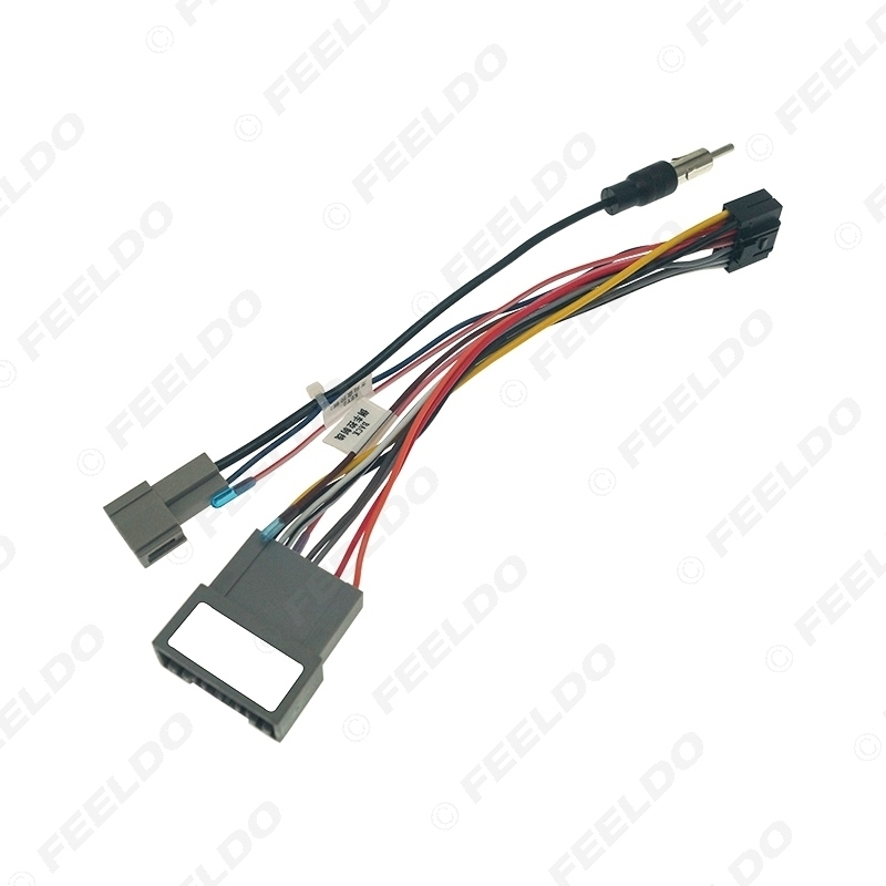 Picture of Car Audio DVD Player 16PIN Android Power Cable Adapter For Honda Fit 2021 Radio Wiring Harness