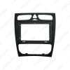 Picture of Car 9 Inch Audio Face Plate Fascia Frame For Mercedes-Benz C-CLASS 2Din Big Screen Radio Stereo Panel Dash Mount Frame Kit