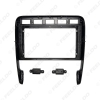 """Picture of Car 2Din Audio Face Plate Fascia Frame For Porsche Cayenne Turbo 9"""" Big Screen Radio Stereo Panel Dash Mount Refitting Kit"""