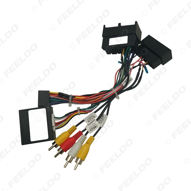 Picture of Car 16pin Android Stereo Wiring Harness Power Calbe Adapter Plug With Canbus For Ford Ranger 2020 Stereo Adapter