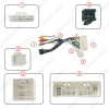 Picture of Car Audio 16PIN DVD Player Power Calbe Adapter With Canbus Box For Hyundai Encino IX35 Tucson KIA K3 K5 KX7 Stereo Plug Wiring Harness