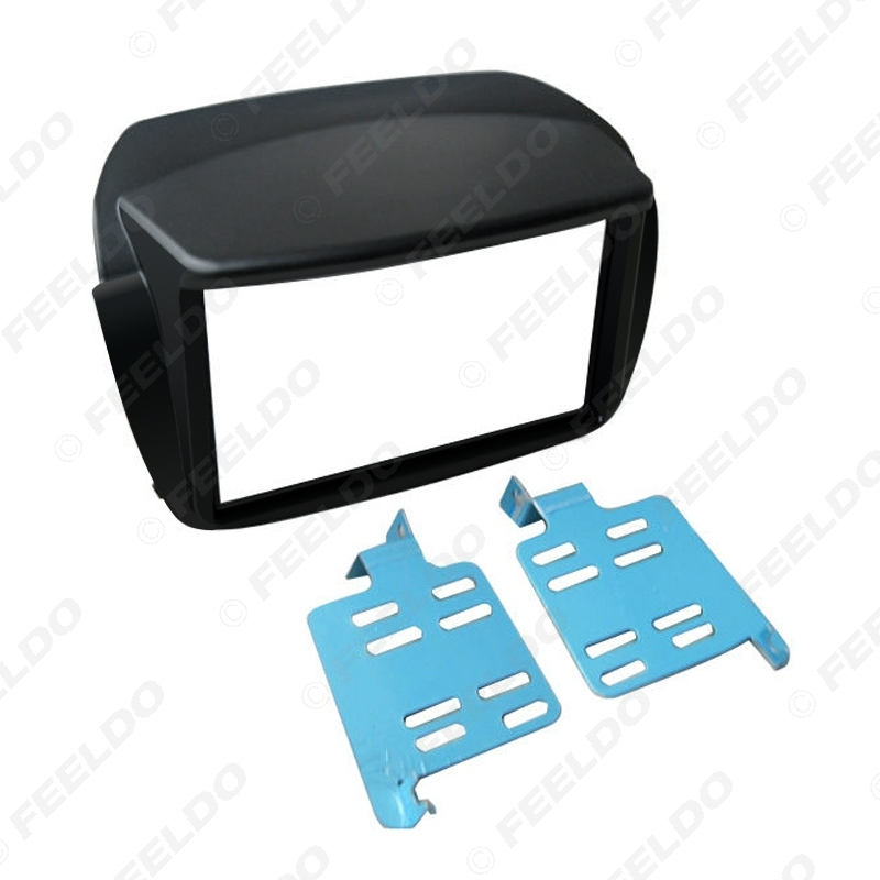Picture of Car 2Din Radio Fascia Frame for FIAT Doblo/OPEL Combo Tour(D) Stereo DVD Audio Panel Dash Installation Trim Kit